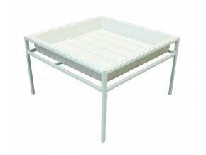 Fast Fit ocelový stůl 90x90cm