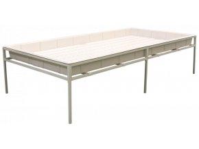 Fast Fit ocelový stůl 120x240cm
