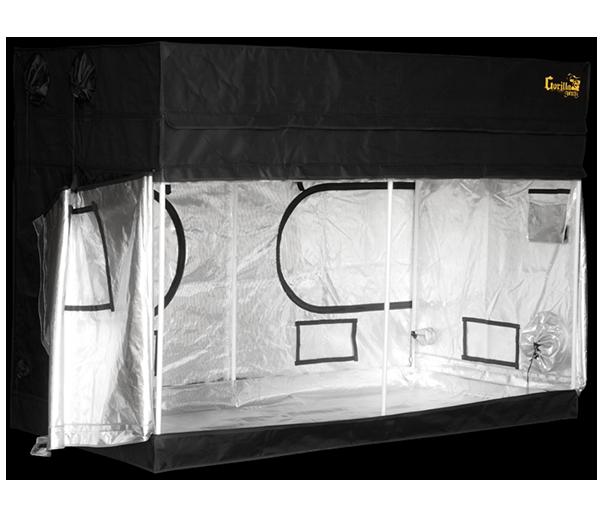 Growbox Gorilla Grow Tent Shorty 244x122x150-173