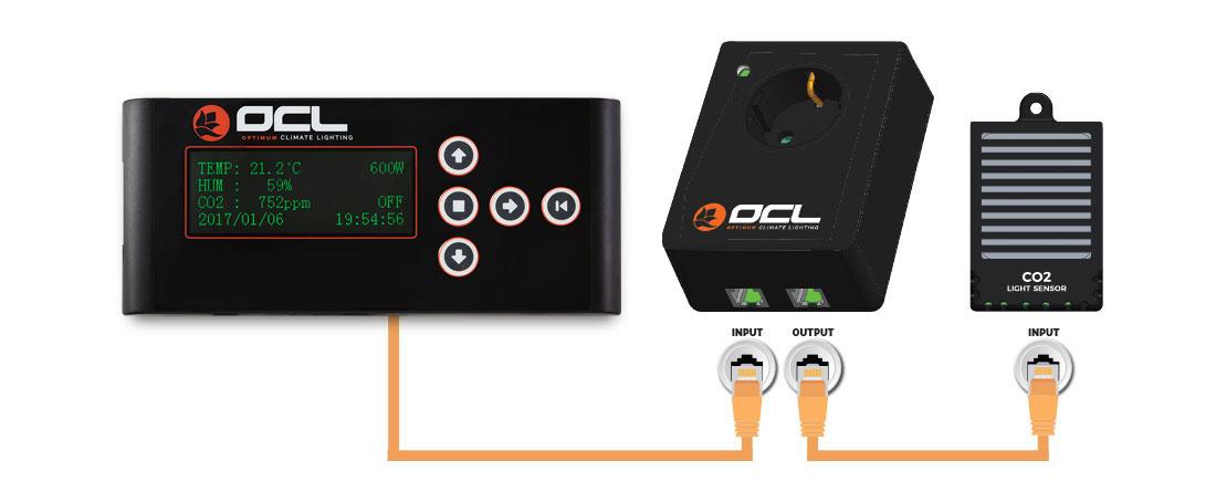 Optimum Climate Lighting OCL CO2 - Sensor