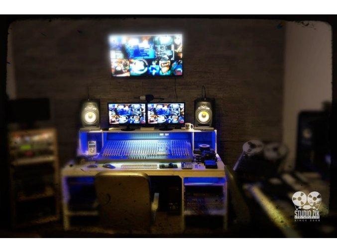 Víkend v nahrávacím studiu