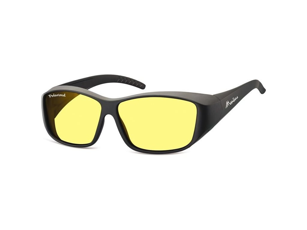 MONTANA EYEWEAR Polarizační brýle na noční vidění pro řidiče Montana FO4H na dioptrické brýle