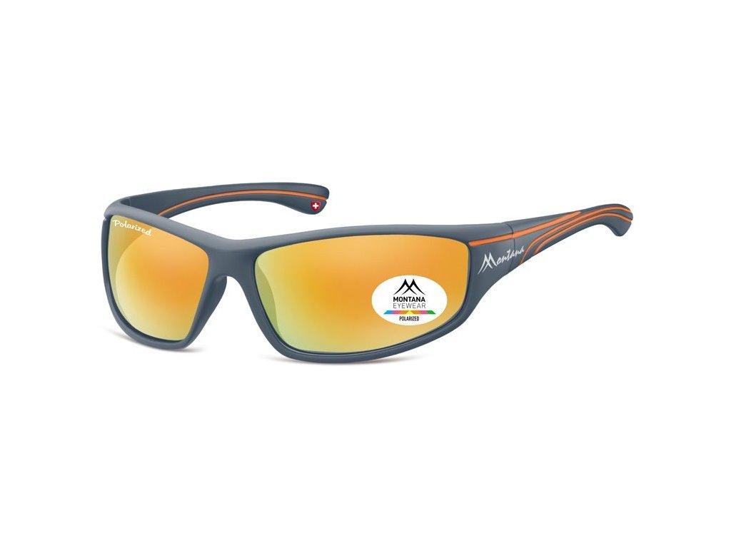MONTANA EYEWEAR Polarizační brýle MONTANA SP309A Cat.3 + pouzdro