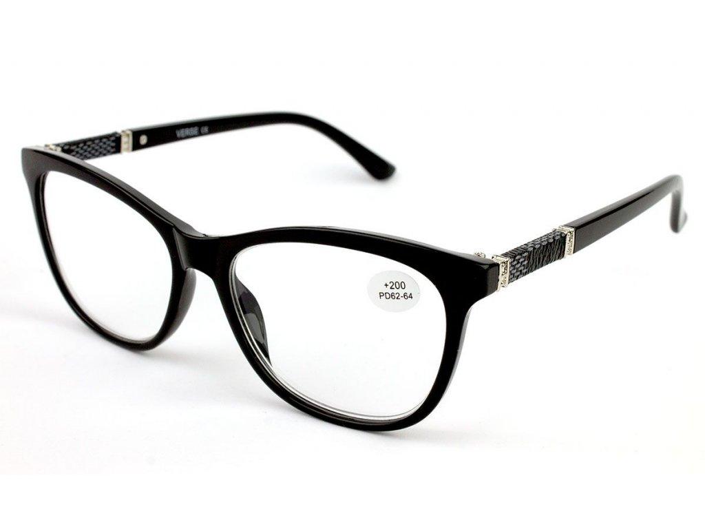 Dioptrické brýle Verse 18021-C1 BLACK +3,50