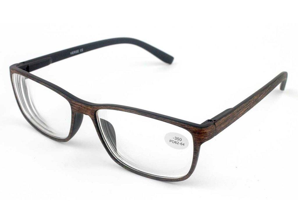 Dioptrické brýle Verse 1740-C4 BROWN +3,50