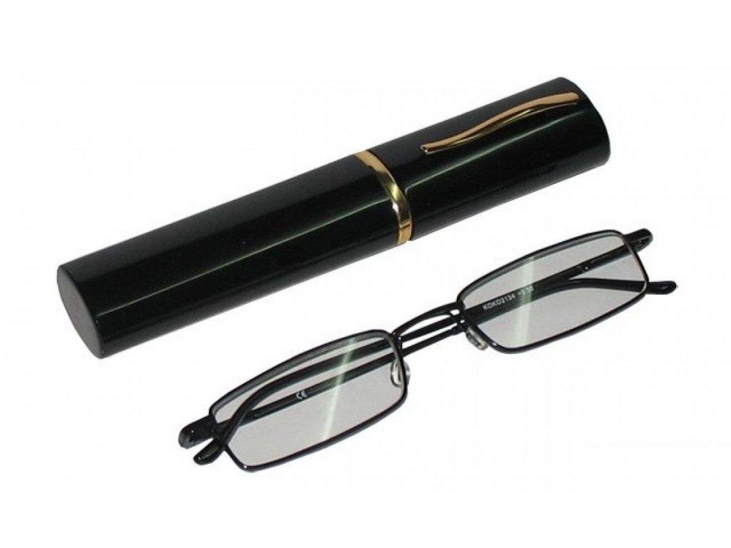 Dioptrické brýle v pouzdru Koko 2134/ +2,50 černé