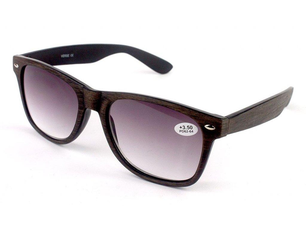 Dioptrické brýle Verse 1716S-C2 / +2,00 ZATMAVENÉ ČOČKY