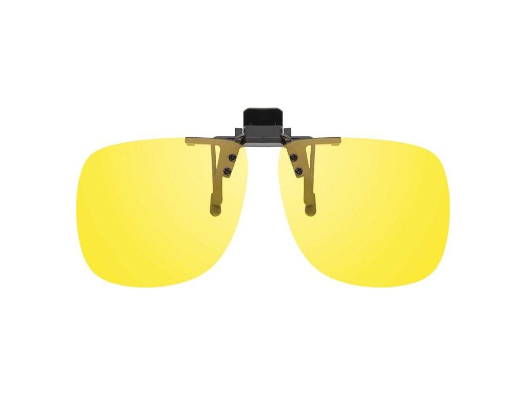 MONTANA EYEWEAR KLIP NA BRÝLE 1969C se žlutou čočkou na noční vidění pro řidiče