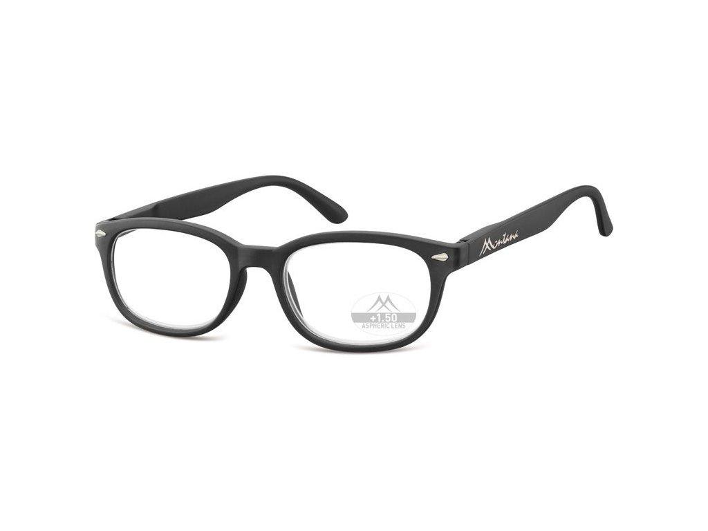 MONTANA EYEWEAR Dioptrické brýle Lihhtweight MR70 BLACK+2,00