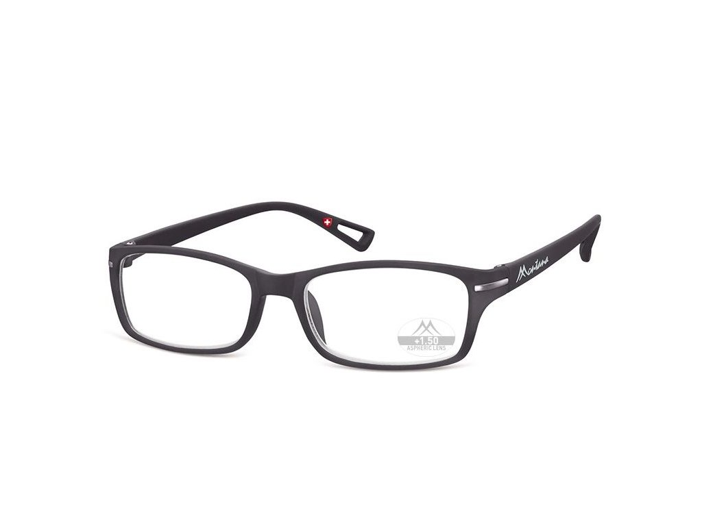 MONTANA EYEWEAR Dioptrické brýle MR76 BLACK+3,00