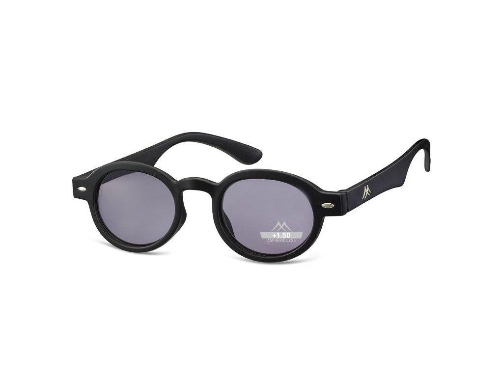 MONTANA EYEWEAR Dioptrické brýle BOX92S BLACK+1,00 ZATMAVENÉ ČOČKY