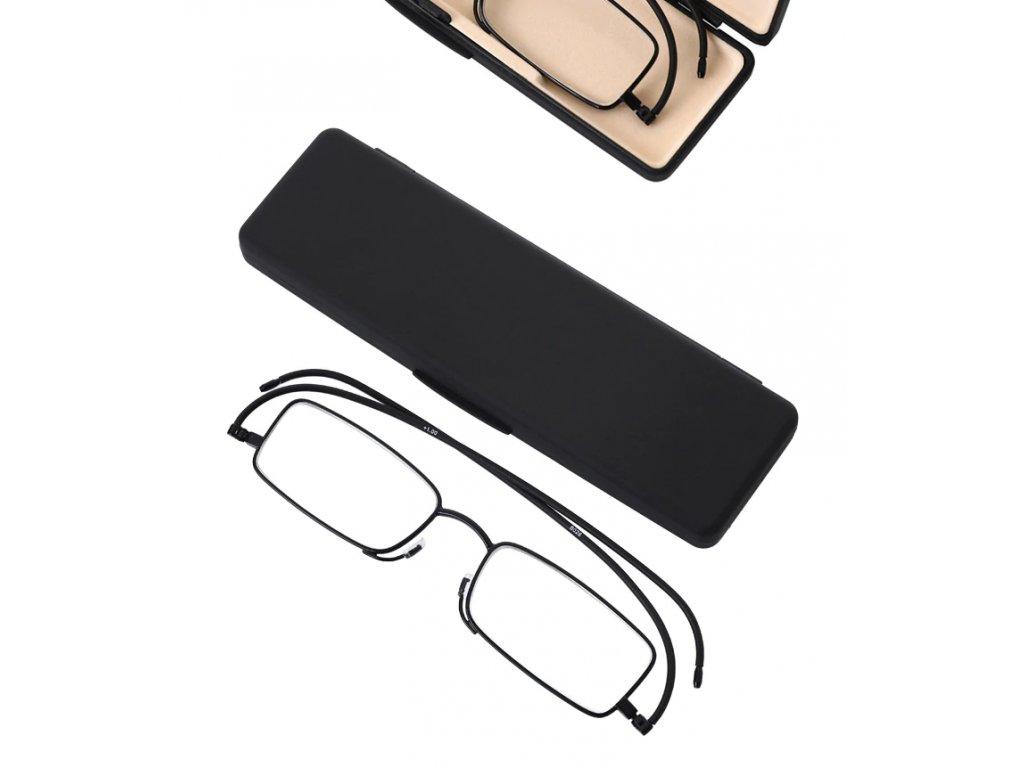 SKLÁDACÍ dioptrické brýle SLIM +2,00
