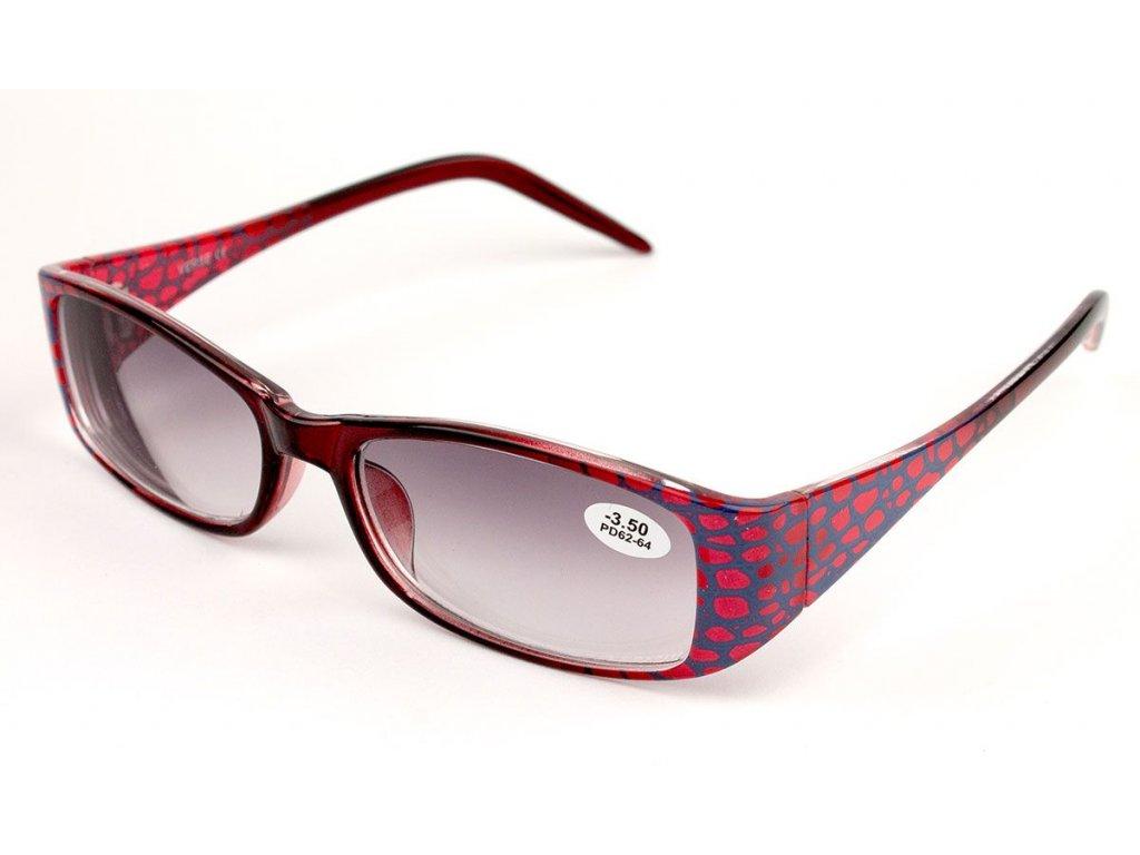Dioptrické brýle Verse 1727S C2 zabarvené +3,50