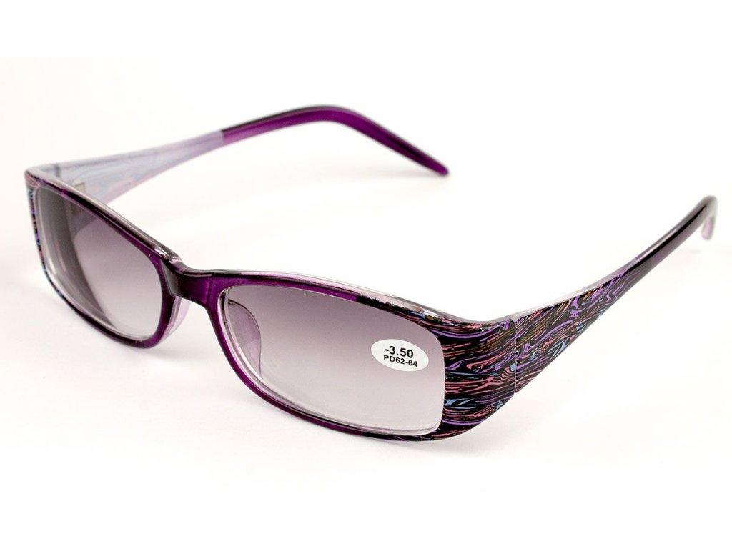 Dioptrické brýle Verse 1727S C1 zabarvené +3,00