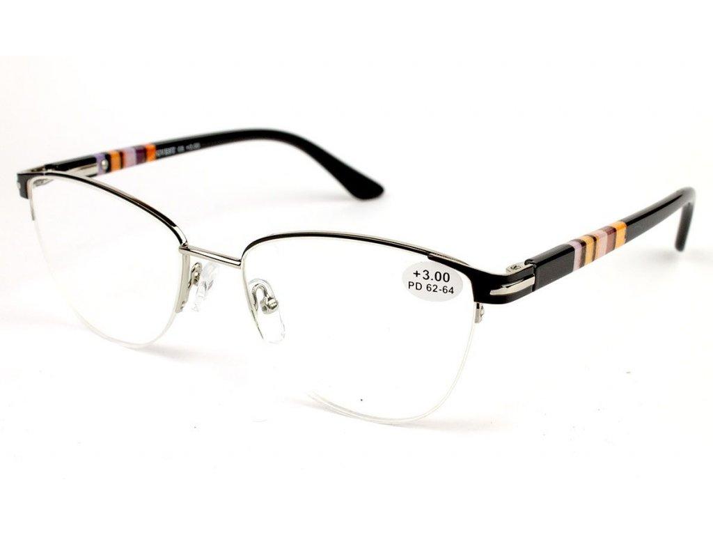 Dioptrické brýle Gvest 1872U-C6/ +2,50 s antireflexní vrstvou