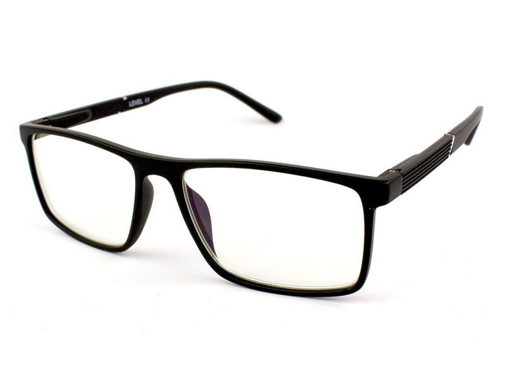 Dioptrické brýle na počítač 1837S-C2 Blueblocker +1,00