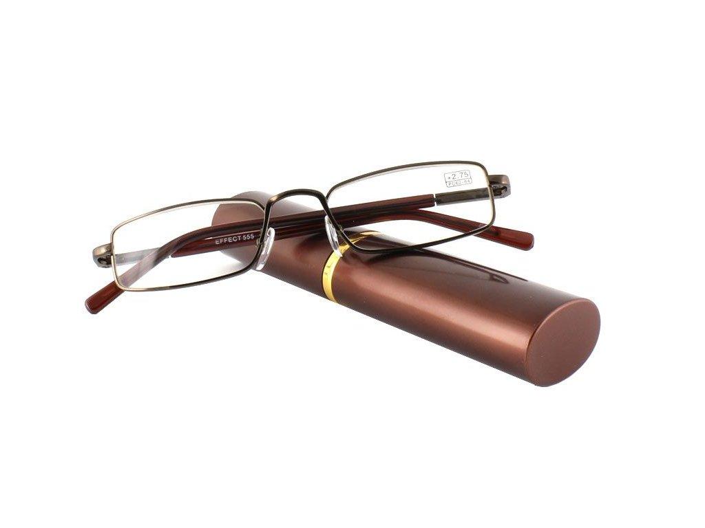 Dioptrické brýle v pouzdru Effect 555/ +3,75 VINE