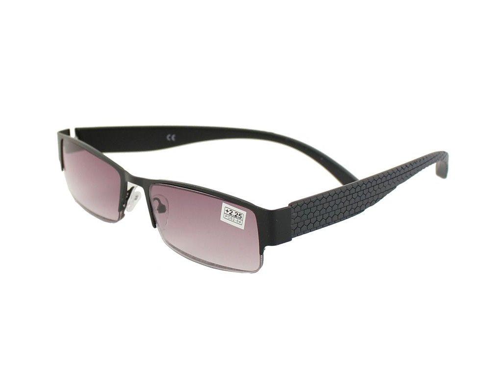 Dioptrické brýle B&B 001/ +3,00 zabarvené