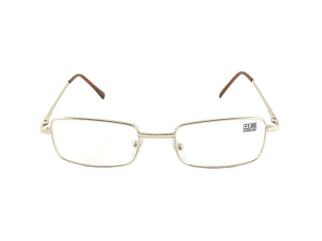 Dioptrické brýle Fabrika 1001/ +4,00 s pérováním sklo