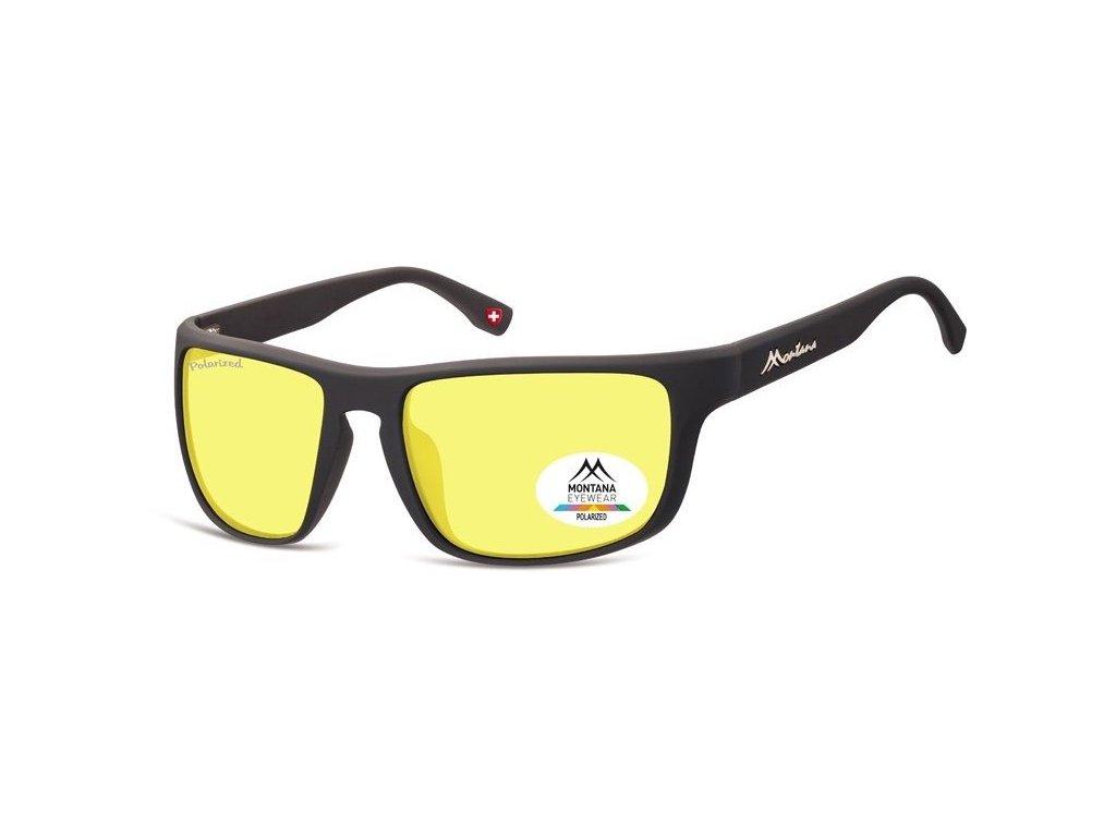 MONTANA EYEWEAR Polarizační brýle na noční vidění pro řidiče  MONTANA SP314F