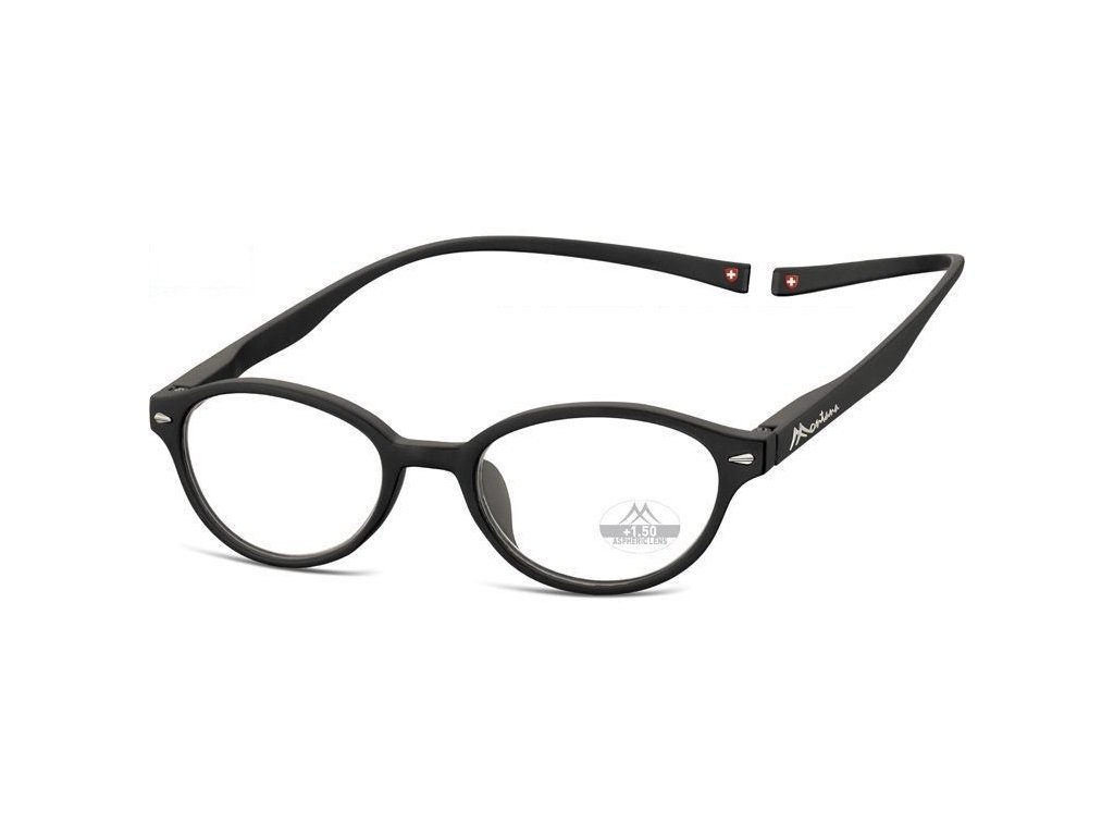 MONTANA EYEWEAR Brýle na čtení s magnetickým spojem za krk MR61/+2,0