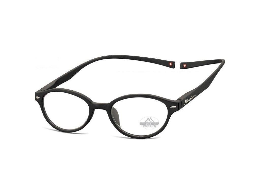 MONTANA EYEWEAR Brýle na čtení s magnetickým spojem za krk MR61/+3,5