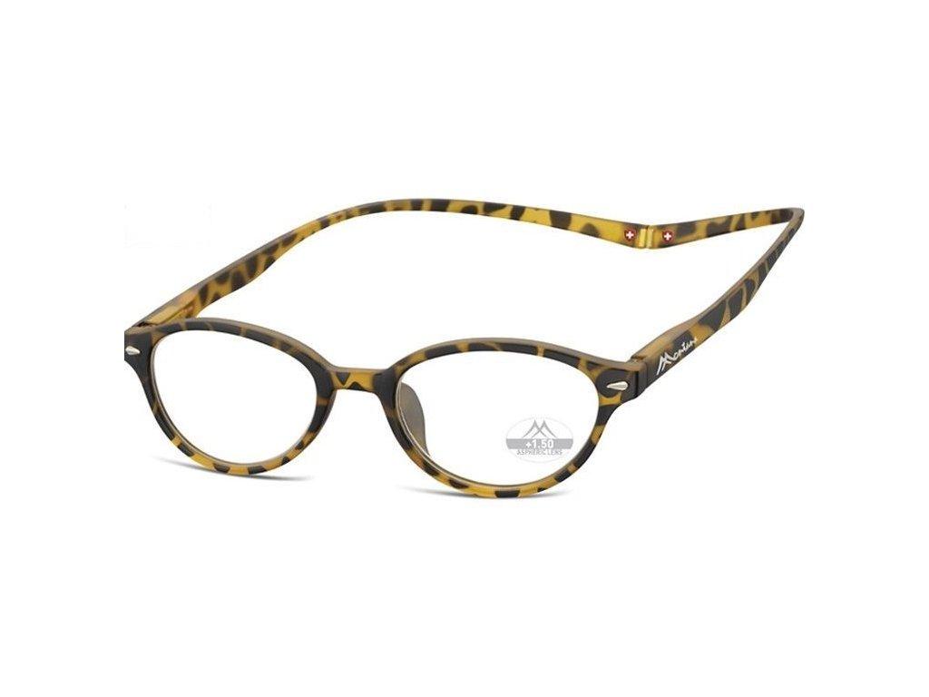 MONTANA EYEWEAR Brýle na čtení s magnetickým spojem za krk MR61A/+1,0
