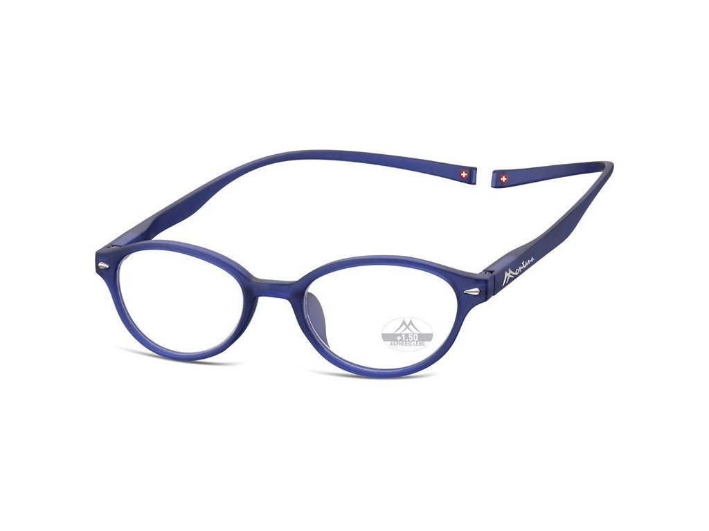 MONTANA EYEWEAR Brýle na čtení s magnetickým spojem za krk MR61B/+1,0