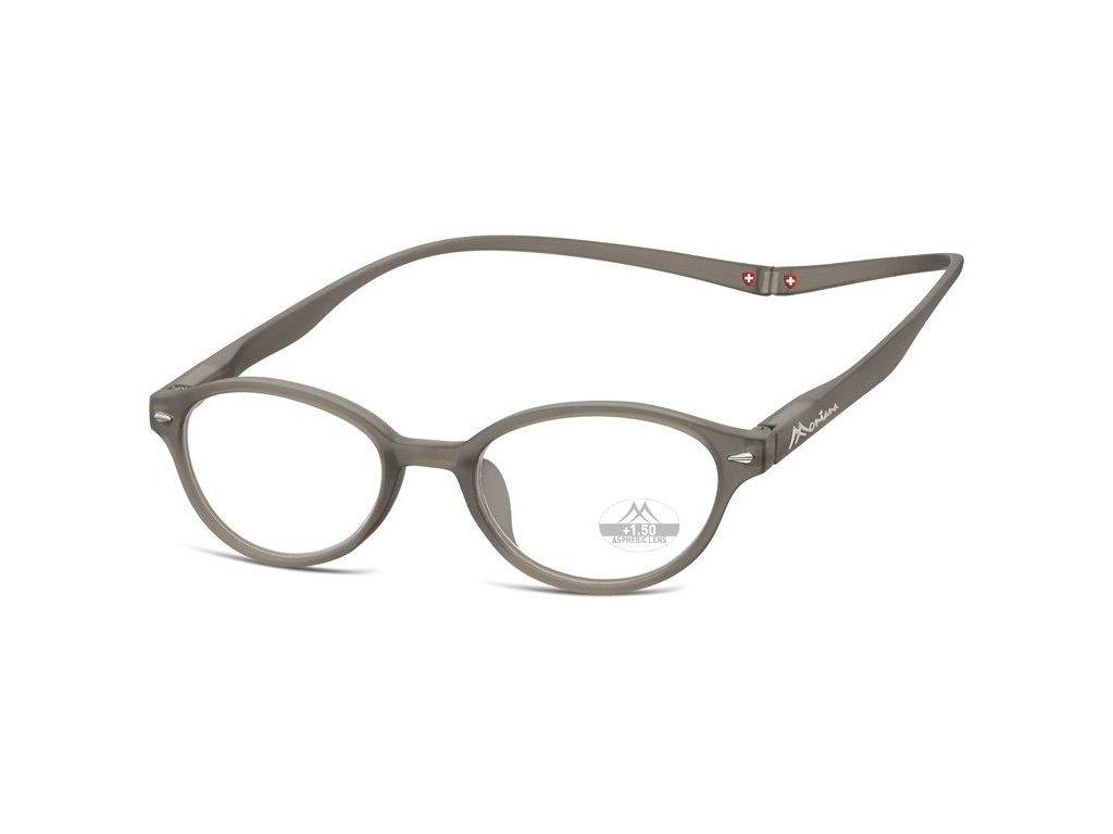 MONTANA EYEWEAR Brýle na čtení s magnetickým spojem za krk MR61C/+2,5