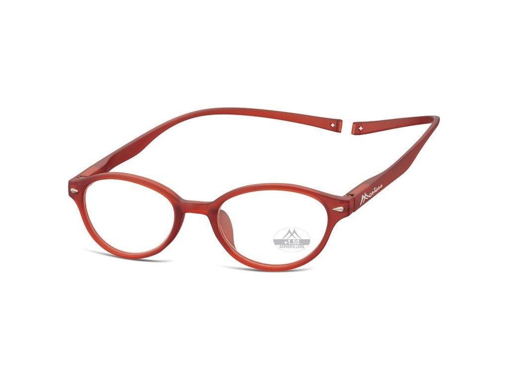MONTANA EYEWEAR Brýle na čtení s magnetickým spojem za krk MR61D/+1,0