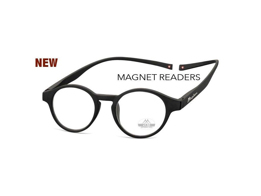 MONTANA EYEWEAR Brýle na čtení s magnetickým spojem za krk MR60/+1,0