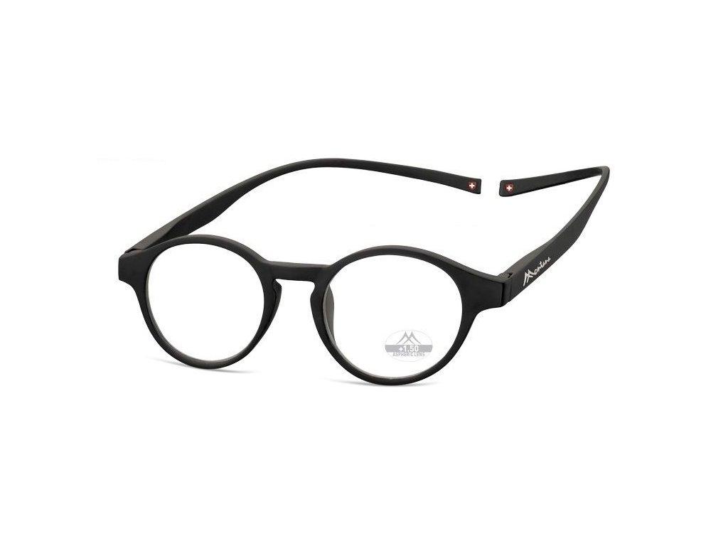 MONTANA EYEWEAR Brýle na čtení s magnetickým spojem za krk MR60/+2,0