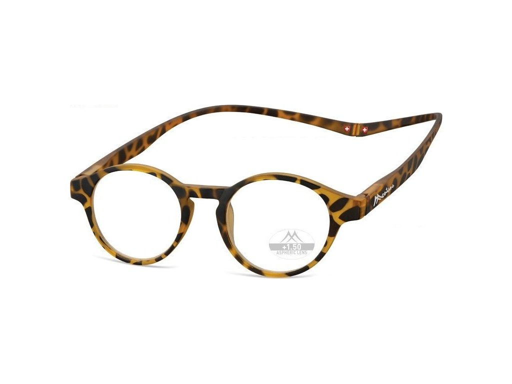 MONTANA EYEWEAR Brýle na čtení s magnetickým spojem za krk MR60A/+3,5