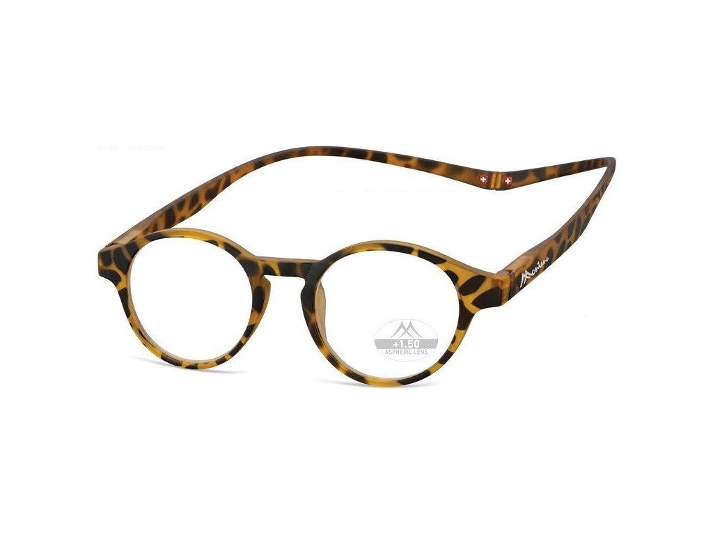 MONTANA EYEWEAR Brýle na čtení s magnetickým spojem za krk MR60A/+2,0
