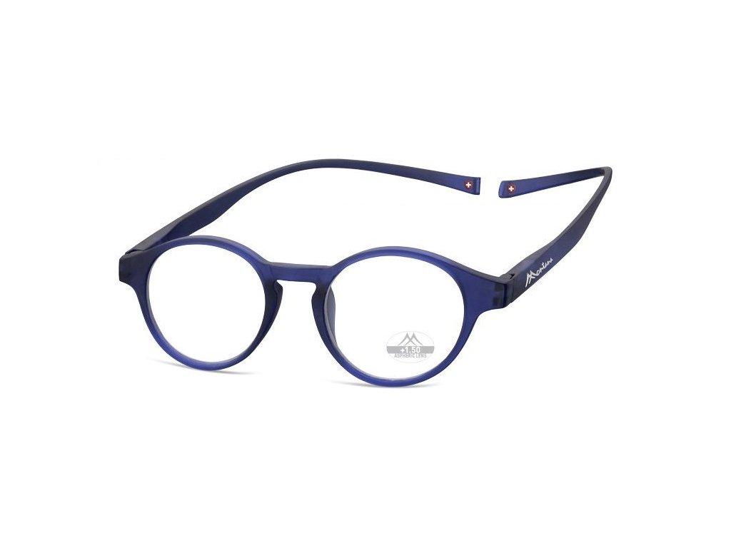 MONTANA EYEWEAR Brýle na čtení s magnetickým spojem za krk MR60B/+1,5