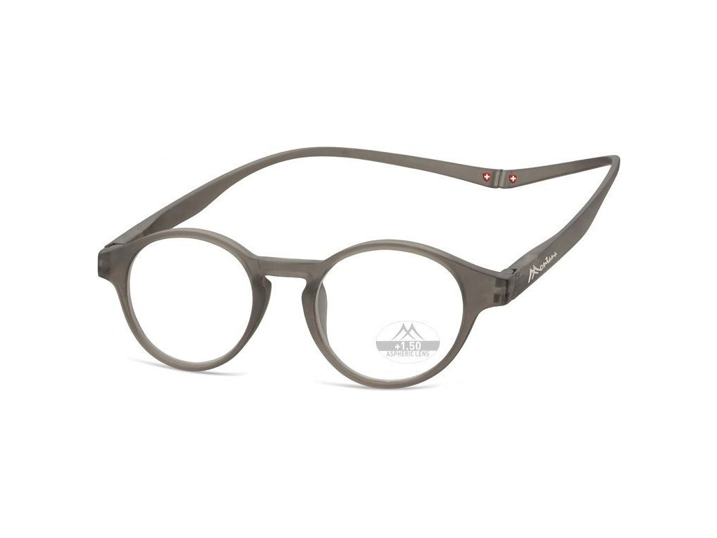 MONTANA EYEWEAR Brýle na čtení s magnetickým spojem za krk MR60C/+2,5