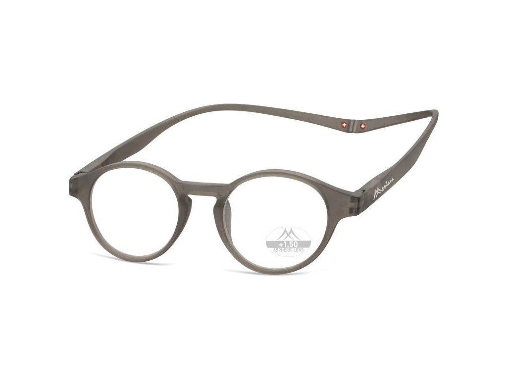 MONTANA EYEWEAR Brýle na čtení s magnetickým spojem za krk MR60C/+2,0