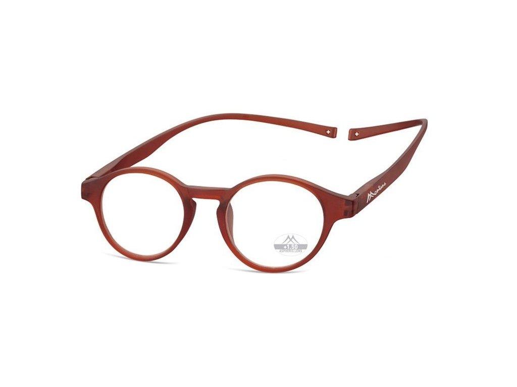 MONTANA EYEWEAR Brýle na čtení s magnetickým spojem za krk MR60D/+2,0