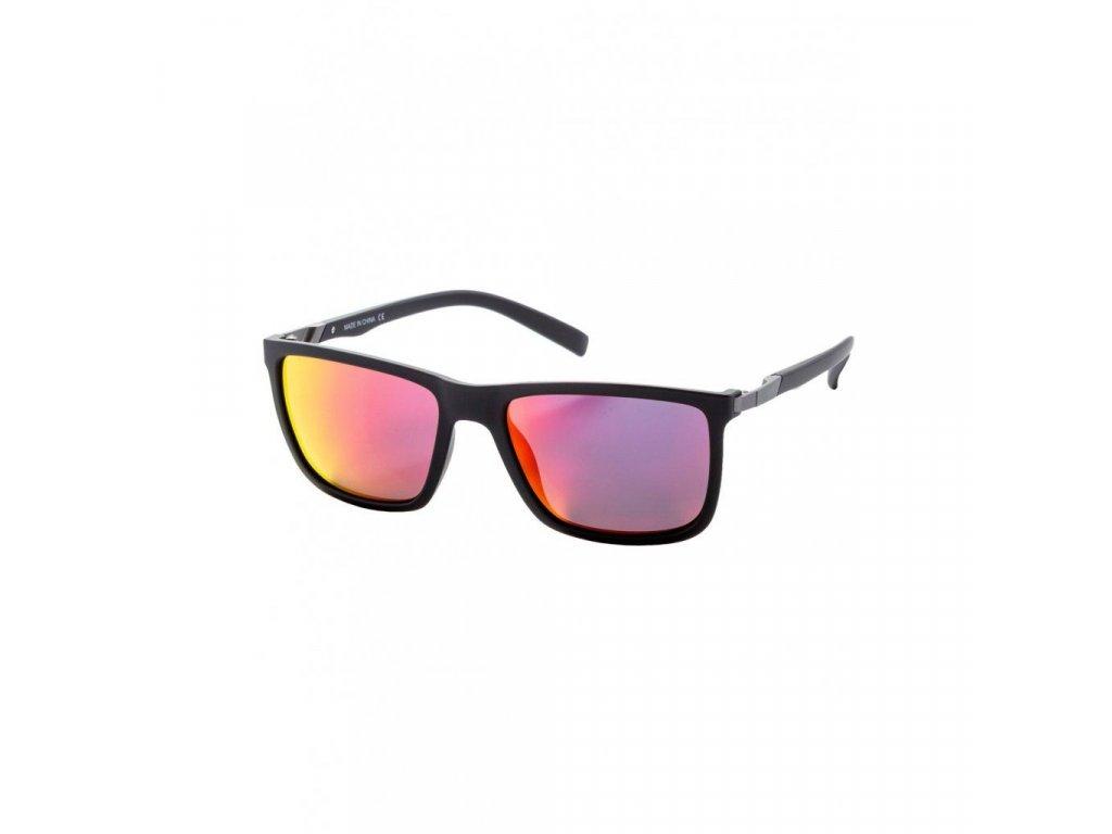MEATFLY Sluneční brýle Meatfly Juno 2 Sunglasses - S19 C - Black Matt, Red