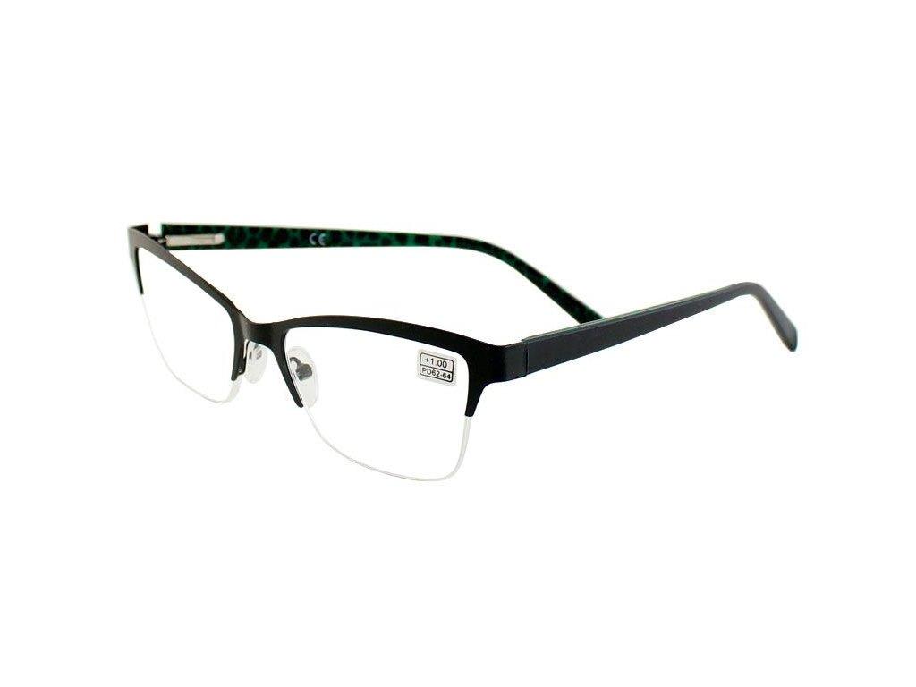 Dioptrické brýle BM905/ +2,50 BLACK s pérováním