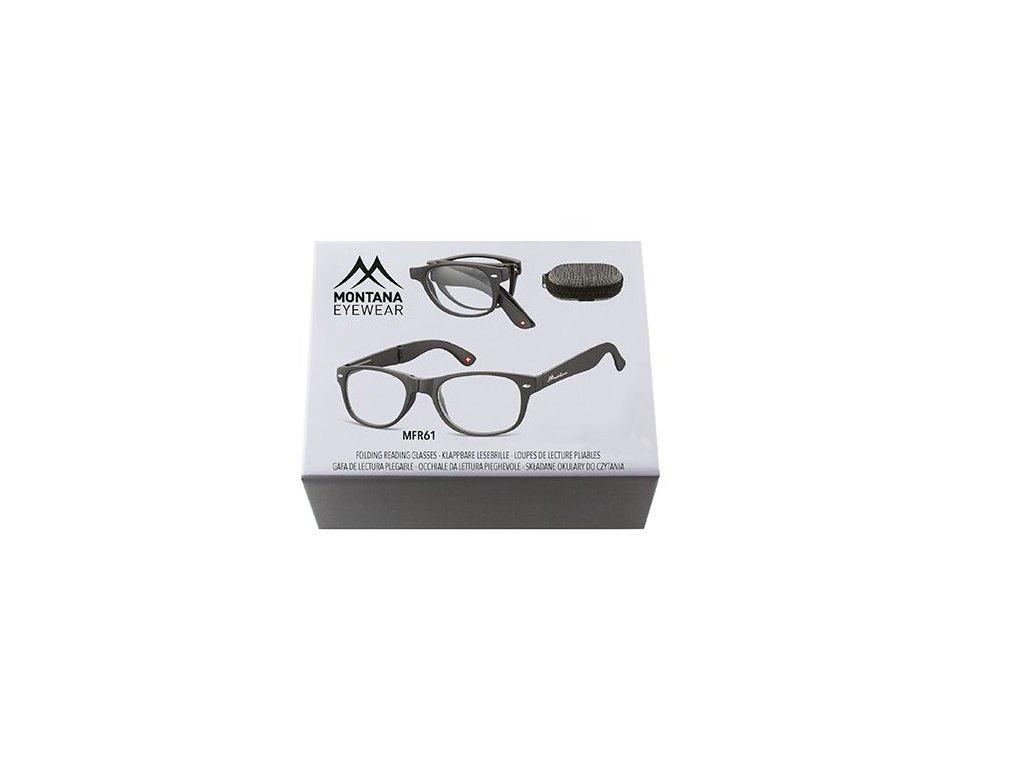 MONTANA EYEWEAR SKLÁDACÍ dioptrické brýle MFR61 +1,00