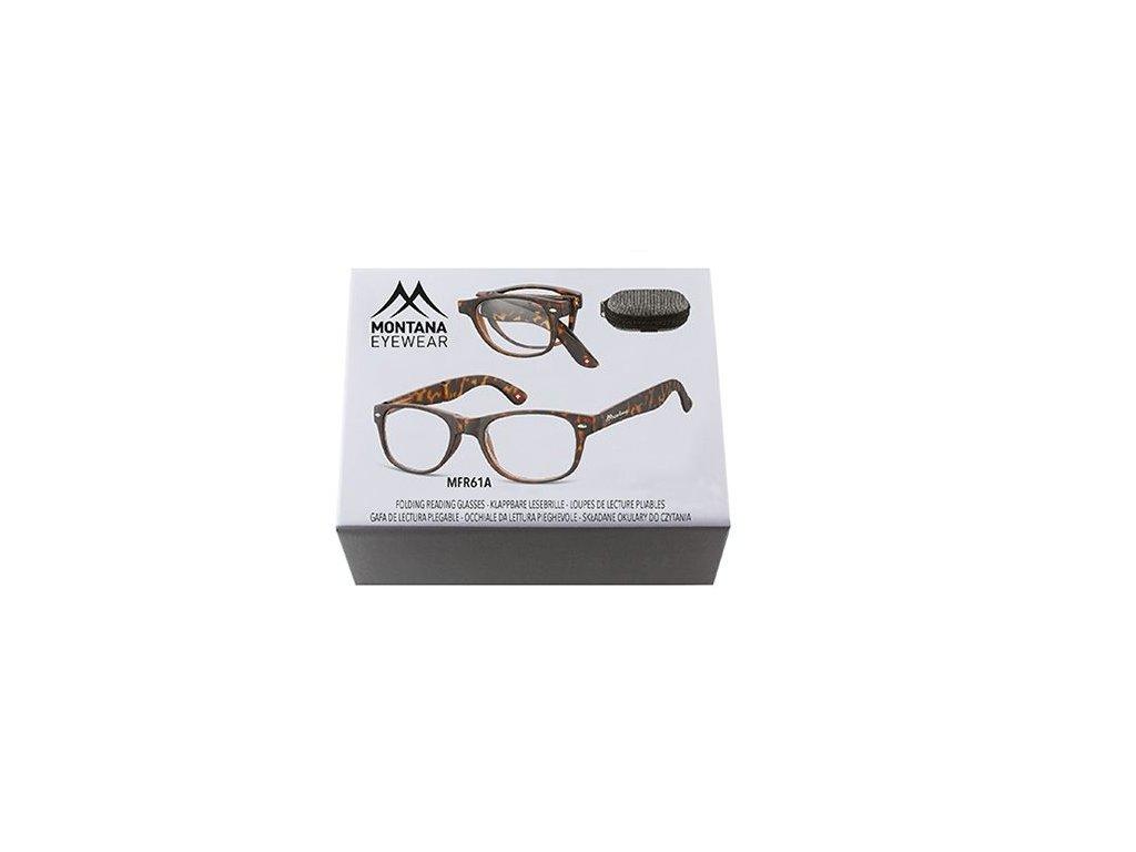 MONTANA EYEWEAR SKLÁDACÍ dioptrické brýle MFR61A +2,00