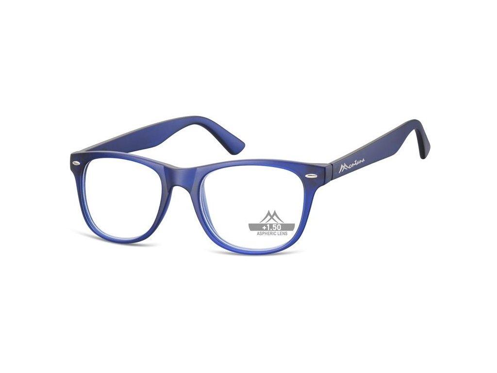MONTANA EYEWEAR Dioptrické brýle MR67C BLUE +3,00