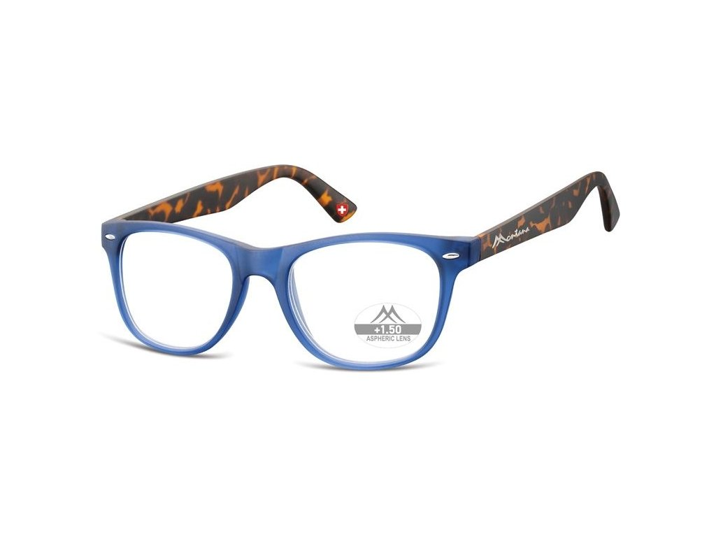 MONTANA EYEWEAR Dioptrické brýle MR67H BLUE +2,50