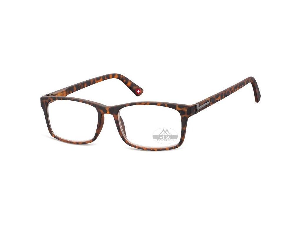 MONTANA EYEWEAR Dioptrické brýle Lihhtweight MR73A BROWN+3,00