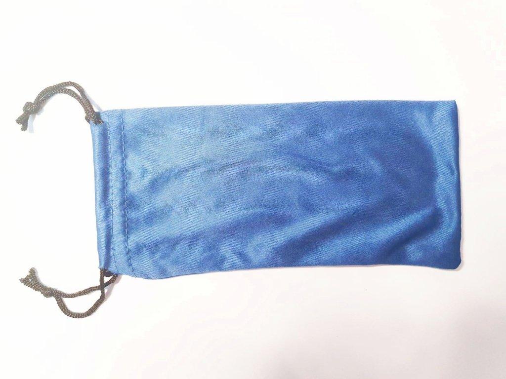 Pytlík na čtecí brýle modrý