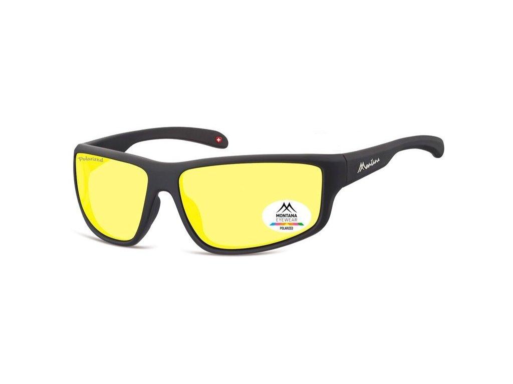 MONTANA EYEWEAR Polarizační brýle na noční vidění pro řidiče MONTANA SP313F