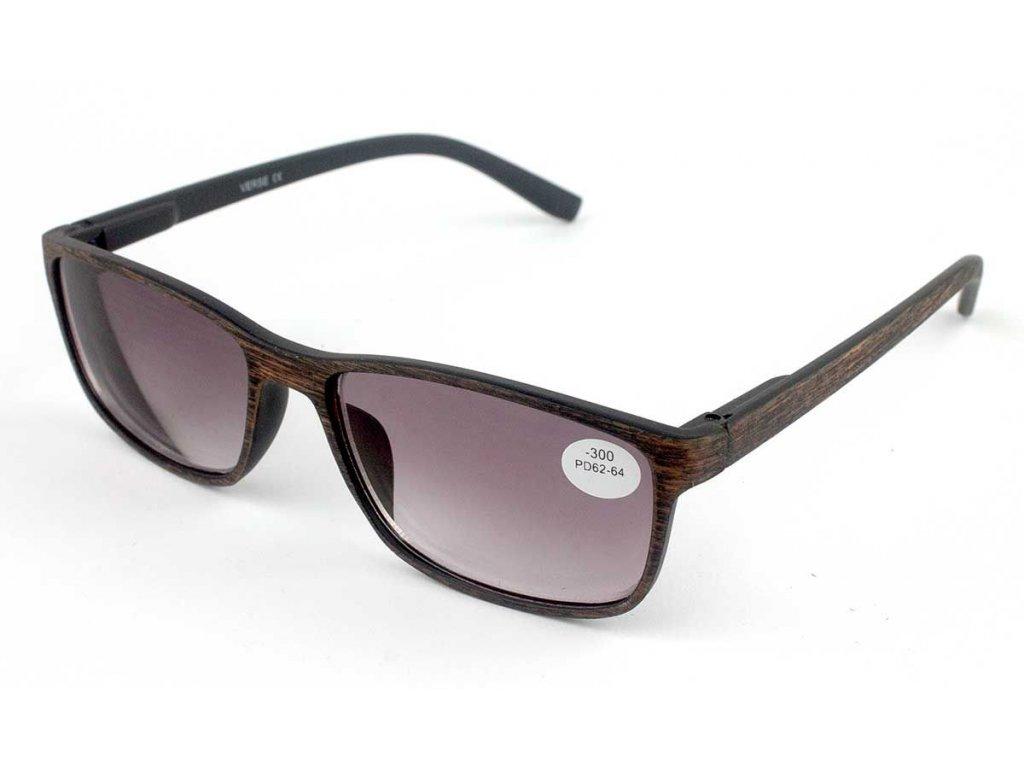 Dioptrické brýle Verse 1740-C4 BROWN -2,50 ZATMAVENÉ ČOČKY