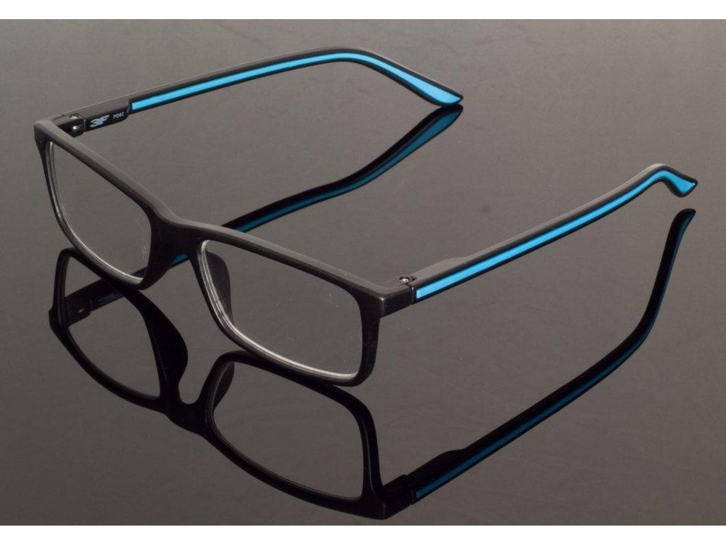 Dioptrické brýle 5660 +2,50 s pérováním