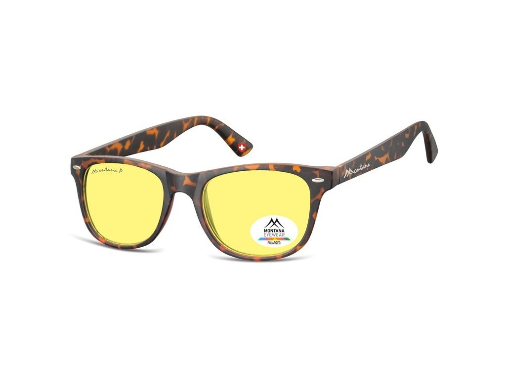 MONTANA EYEWEAR Polarizační brýle na noční vidění pro řidiče  MONTANA MP10YA